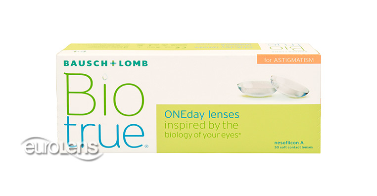 Biotrue ONEday for Astigmatism 30PK